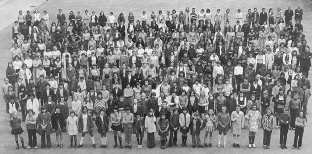 Photo de groupe lors du centenaire