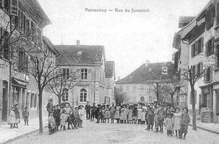 Juventuti à la fin du XIXe siècle